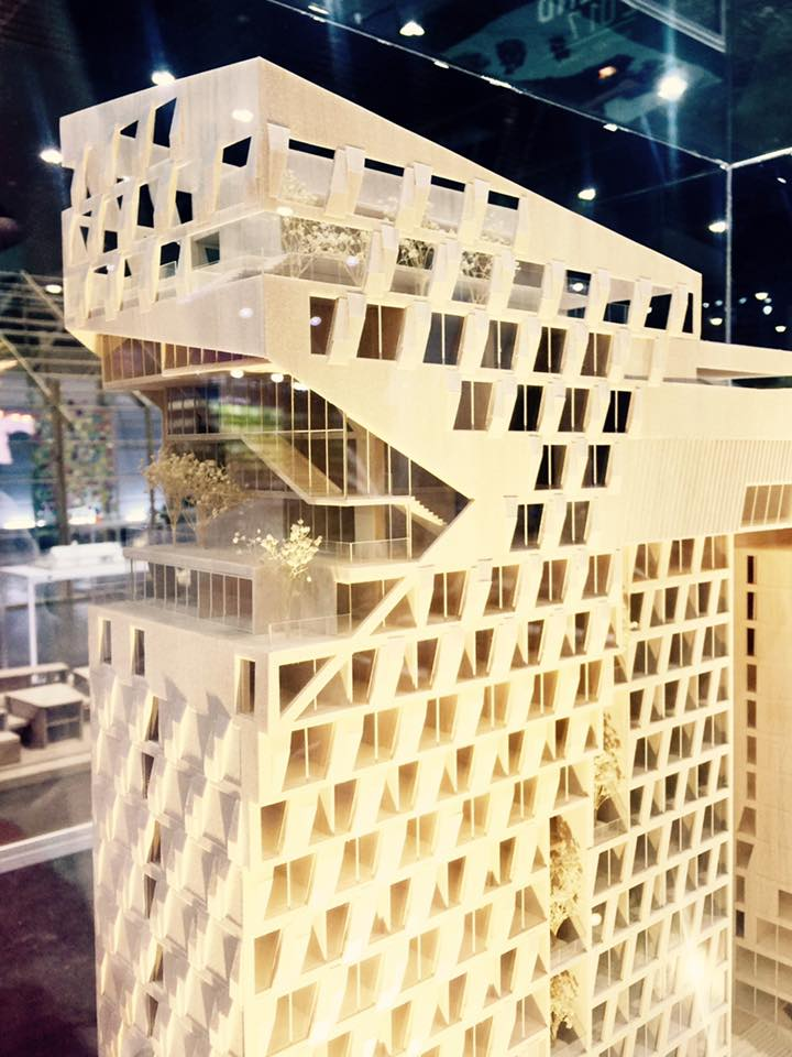 Dusit D2 Hotel Chaengwattana Bangkok was Exhibited in ASA17 (Architect Expo 2017) from 2nd – 7th May 2017